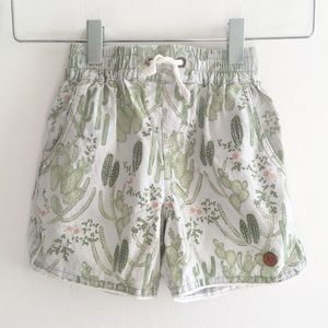 Children of the Tribe Shorts Cactus Green 4-6